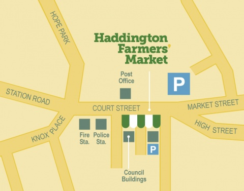Haddington farmers market location