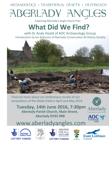 Aberlady_Angles_June 2016 Prelimresults _talk_poster