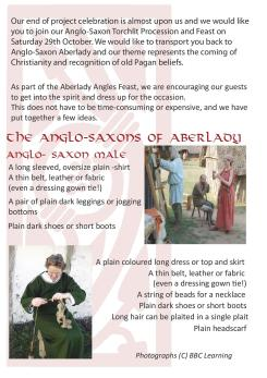Anglo Saxon Costume Ideas